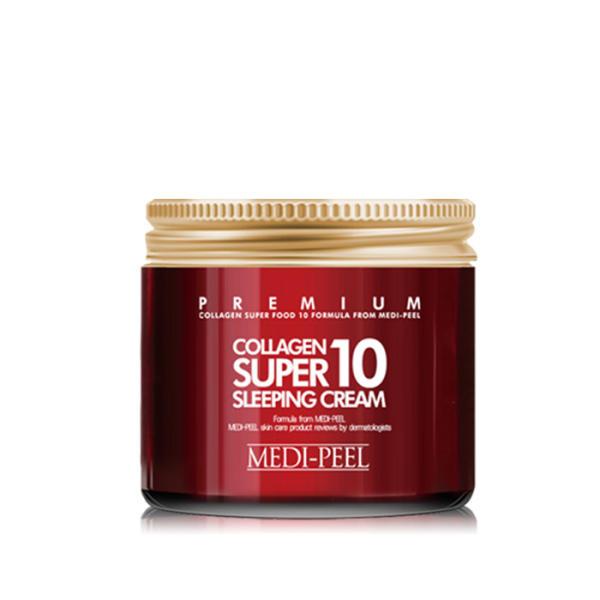 [正品] [美蒂菲] 超級膠原蛋白10睡眠面霜 70ml
