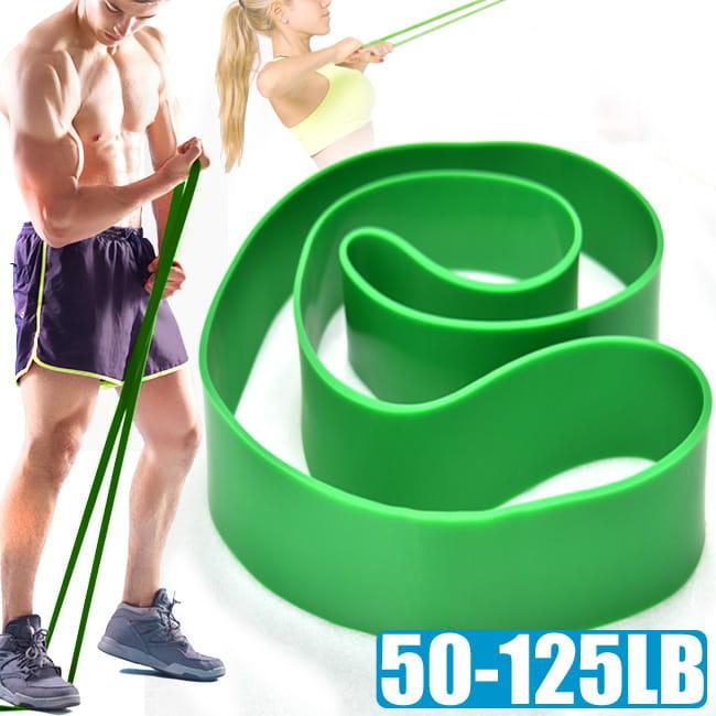 125磅大環狀彈力帶(44MM) /LATEX乳膠阻力繩/手足阻力帶運動拉力帶/彈力繩抗拉力繩