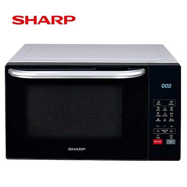 ●贈強化盤3入組 SP-2005●『SHARP』夏普 25L多功能自動烹調燒烤微波爐 R-T25KG **免運費**