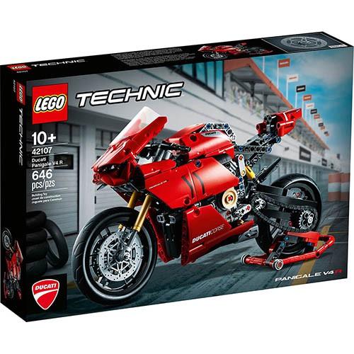 LEGO 樂高 科技 Technic系列 - 42107 杜卡迪 Panigale V4 R