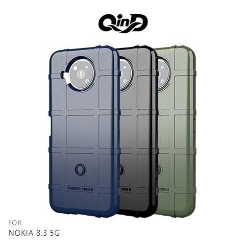 QinD NOKIA 8.3 5G 戰術護盾保護套