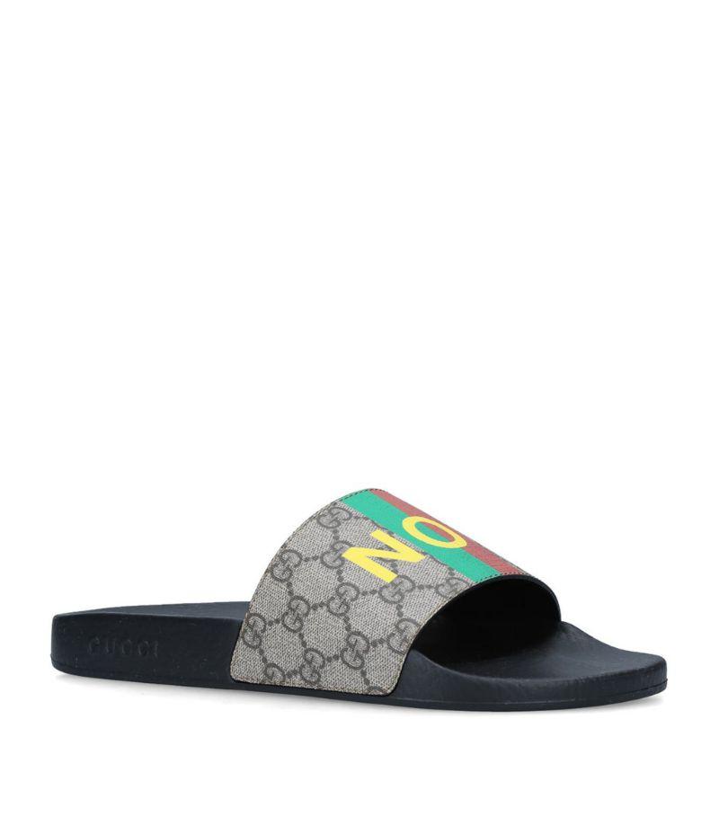 Gucci Fake/Not Gg Supreme Slides