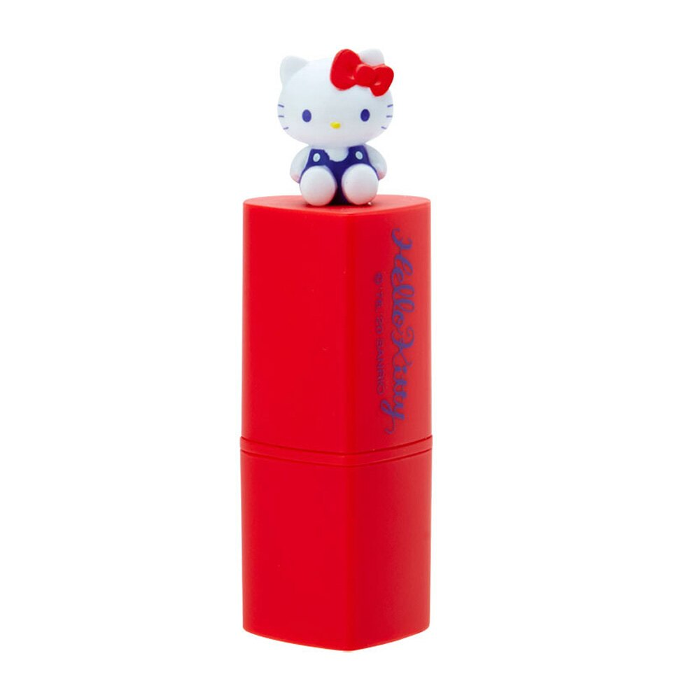 Hello Kitty愛心造型玫瑰香護唇膏/ 潤唇膏