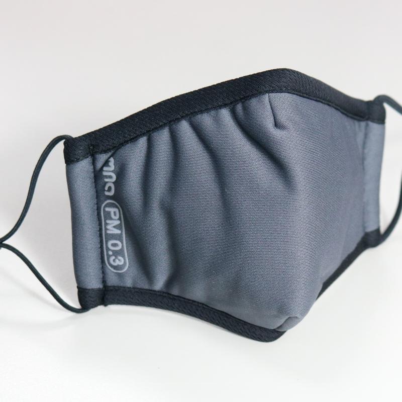 【肺常新鮮mnaPM0.3】高效防護口罩/深灰色M