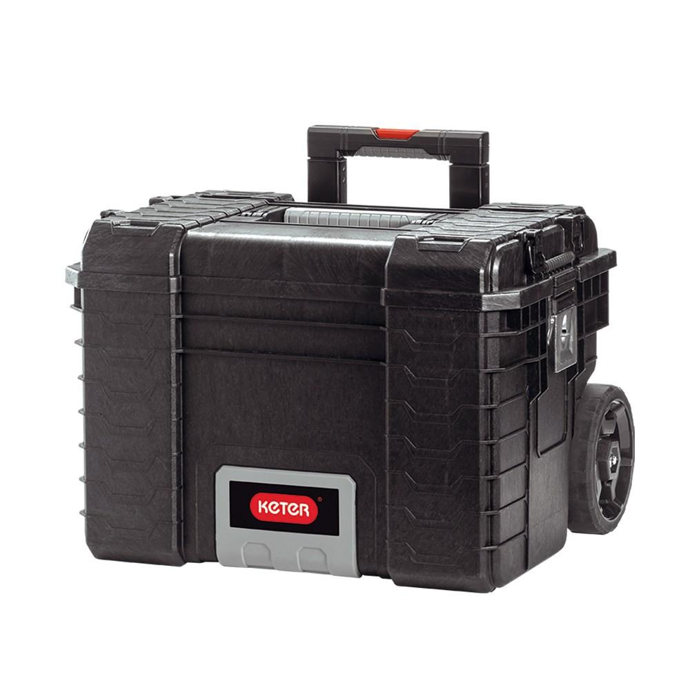 Keter拉桿附輪專業型工具箱