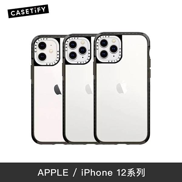 【實體店面】Casetify iPhone12 系列 耐衝擊保護殼 (透黑)