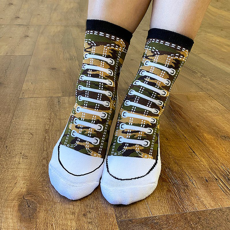 推薦【SOCKS鞋型襪】SEALS│中筒襪 男襪 女襪 | 交換禮物