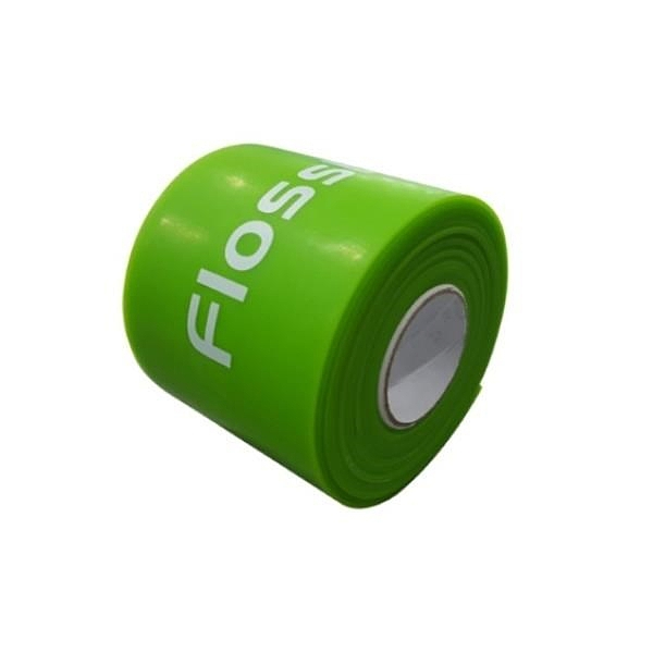 【南紡購物中心】【Sanctband】Flossband 加壓帶綠色加長版 (2英吋3.5米輕型)
