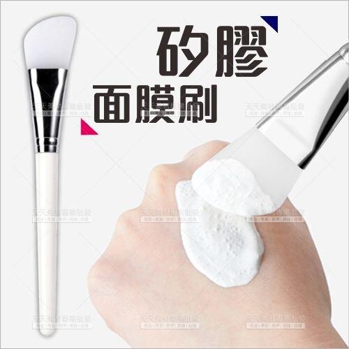 矽膠 刀型面膜刷-單支[77121] 美容做臉敷臉 面膜調棒