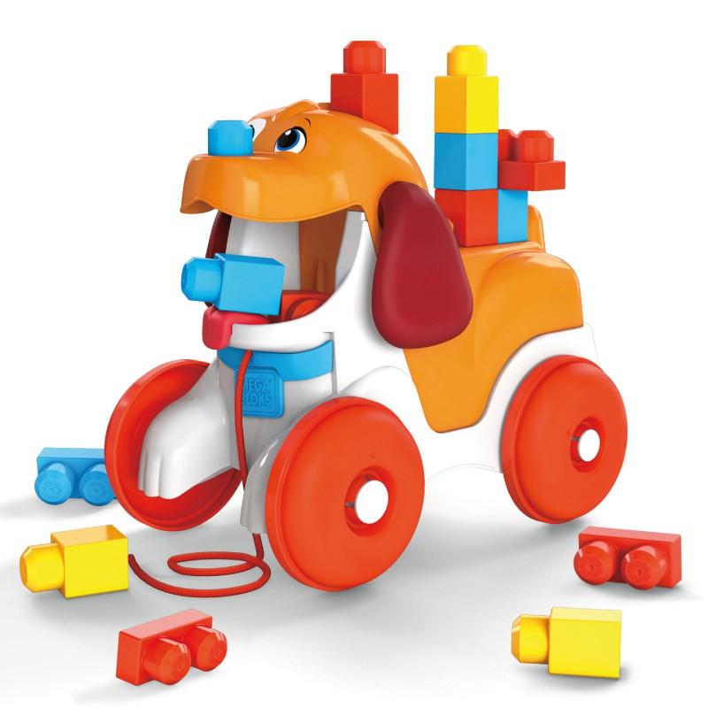 Mega Bloks美高積木 可愛小狗拉拉車 玩具反斗城