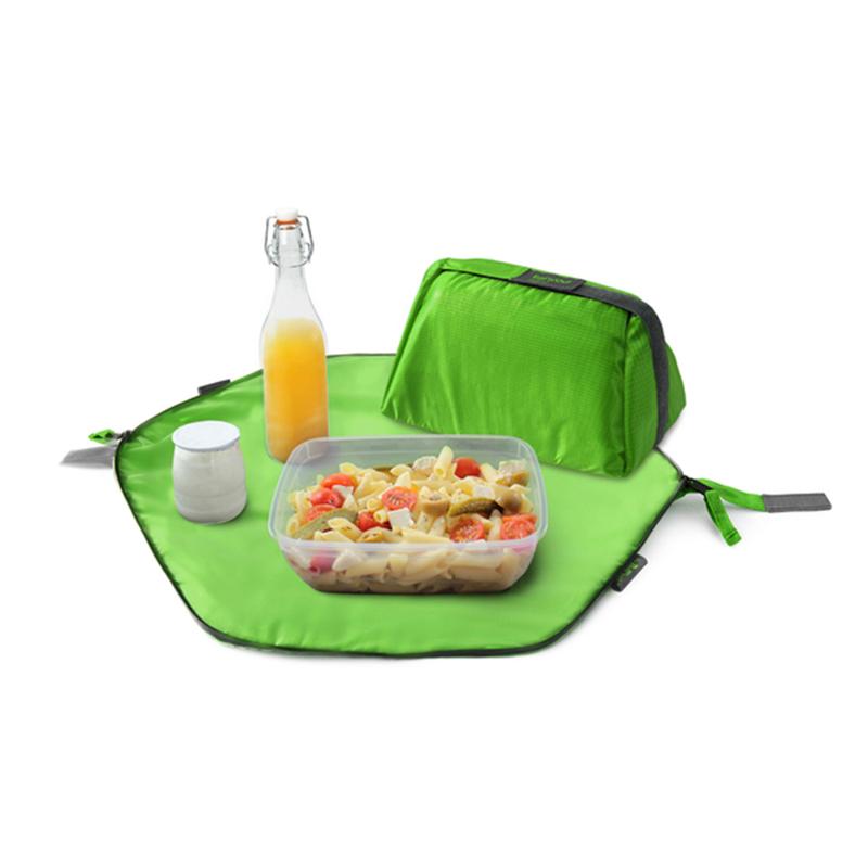 【Roll'eat西班牙食物袋】二合一餐袋/青草綠
