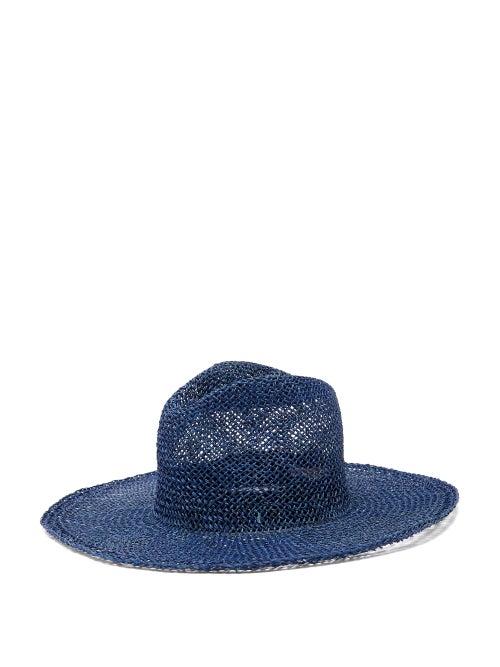 Reinhard Plank Hats - Norma Woven Hat - Womens - Blue