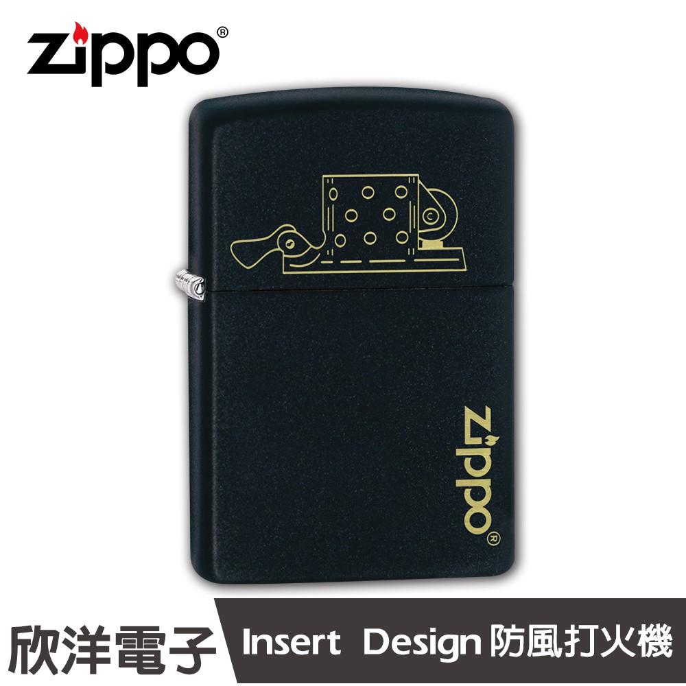 Zippo Insert Design 防風打火機(49218)