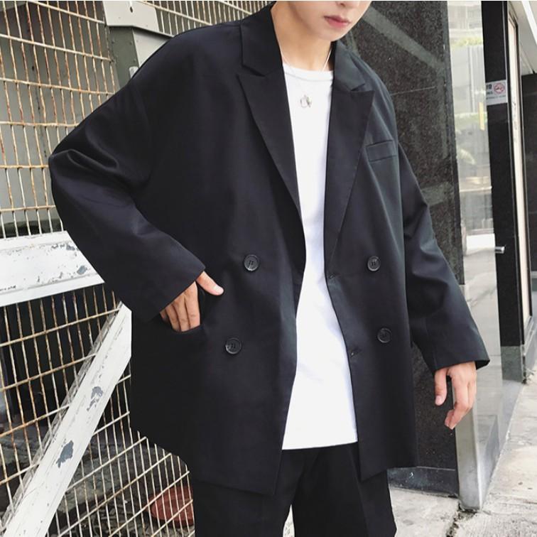 【M世代】西裝外套 M-2XL 男外套 簡約外套 韓版潮流西服 休閒寬鬆男士正裝 韓國夾克 正韓衣著 (CLEPG14)