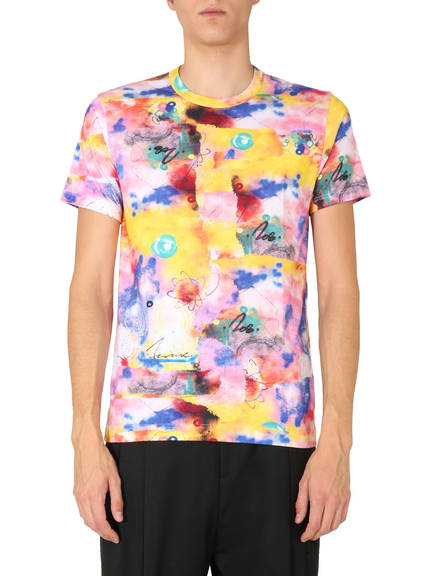 comme des garcons shirt crew neck t-shirt