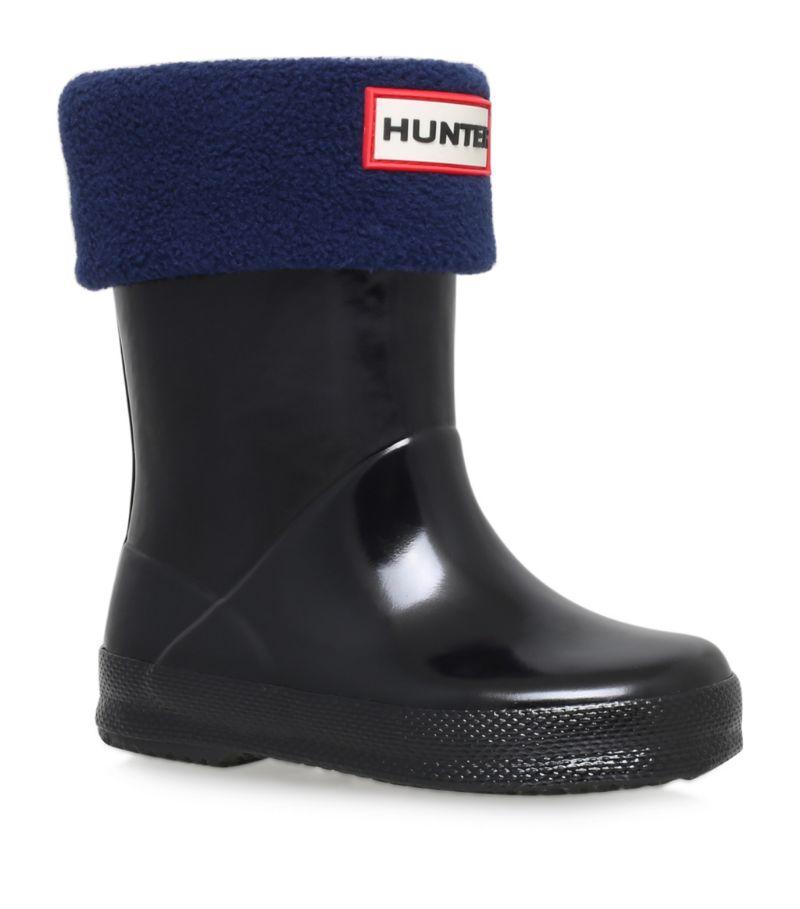 Hunter Kids Logo Boot Socks