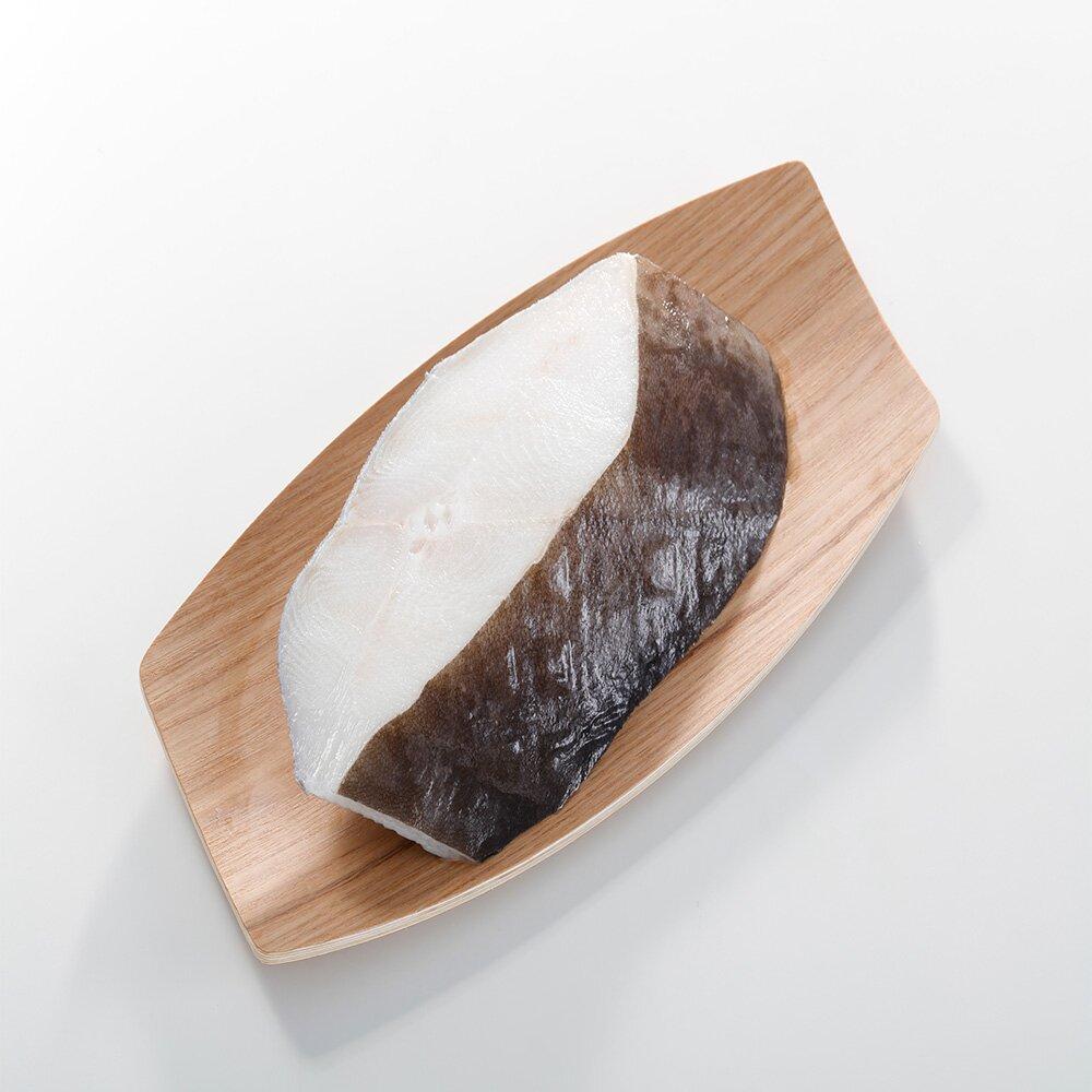 【華得水產】格陵蘭大比目魚厚切片6片(460g/片/無肚洞)