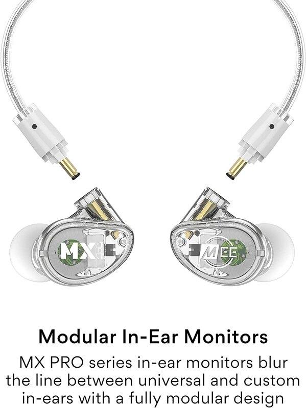 [9美國直購] 耳機 MEE Professional MX3 PRO Customizable Noise-Isolating Universal-Fit Modular Musician's in