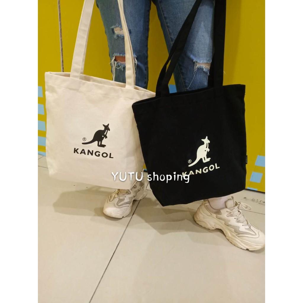 kangol 帆布包 手提袋 單肩包 提袋 環保袋 購物袋