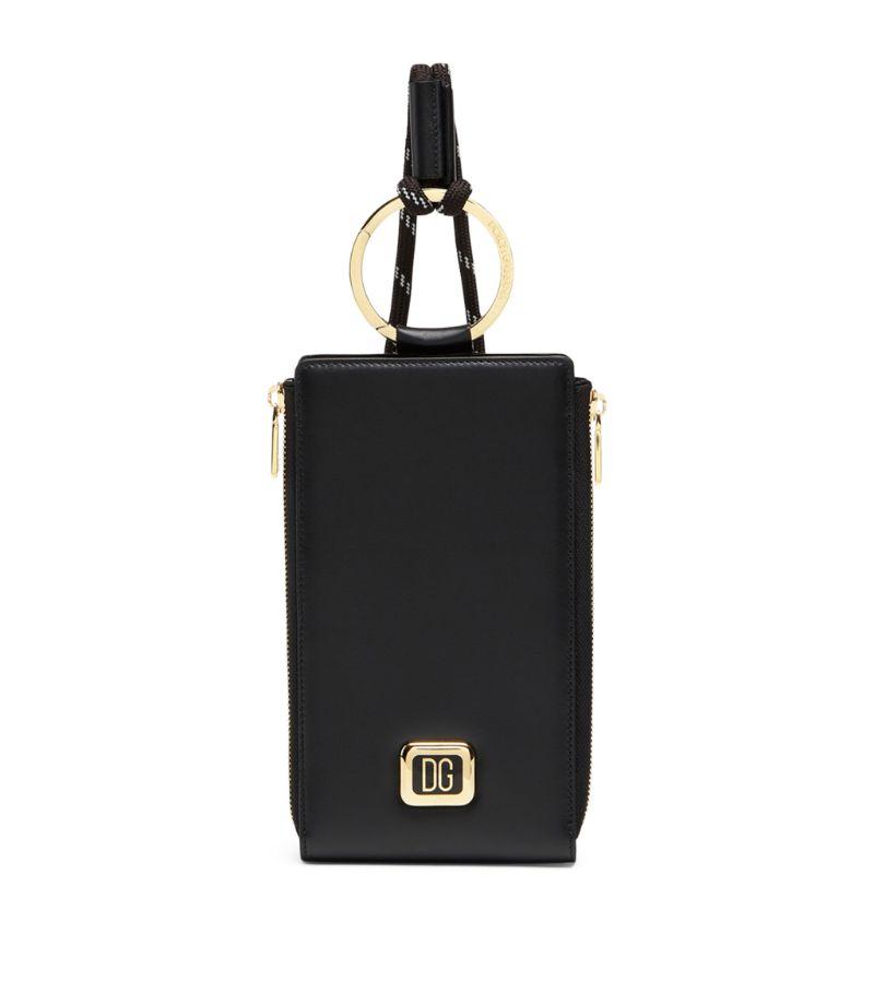Dolce & Gabbana Leather Strap Wallet