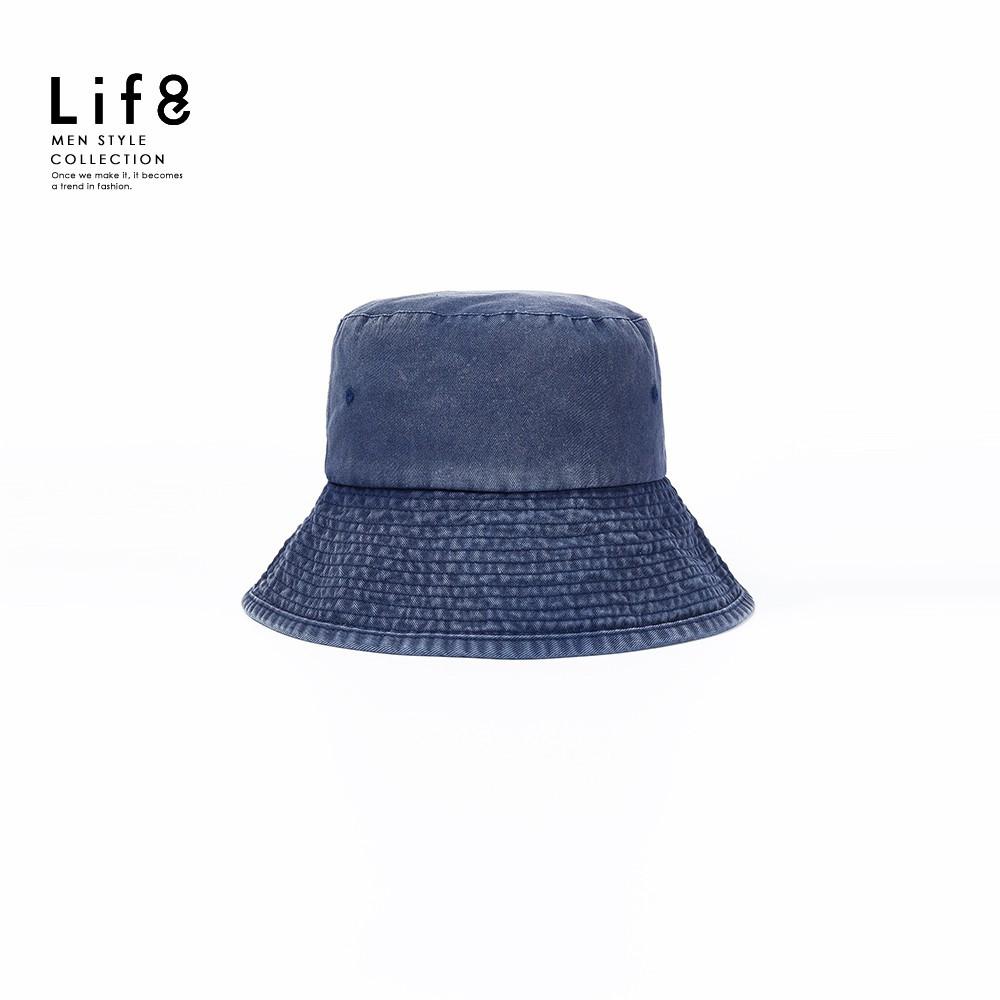 LIFE8-Casual 水洗牛仔 漁夫帽-05446 廠商直送