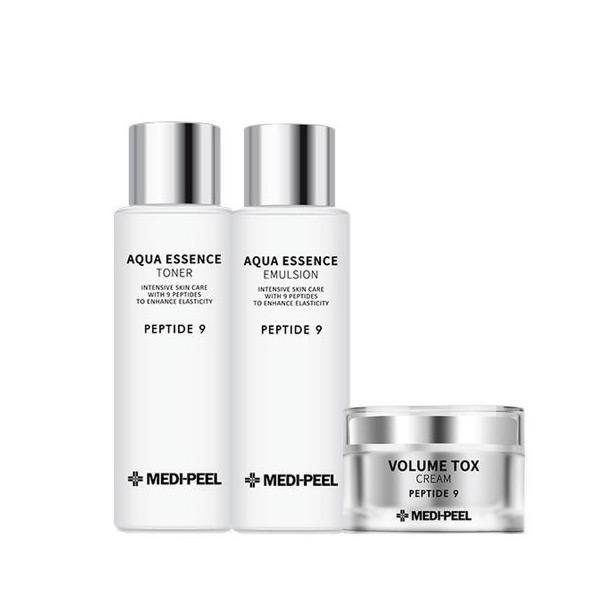 [正品] 美蒂菲縮氨酸9淨瑩精華爽膚水+乳液+豐盈面霜 3種套裝