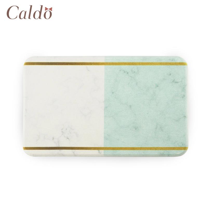 【Caldo卡朵生活】大理石紋珪藻土肥皂墊杯墊/雙色