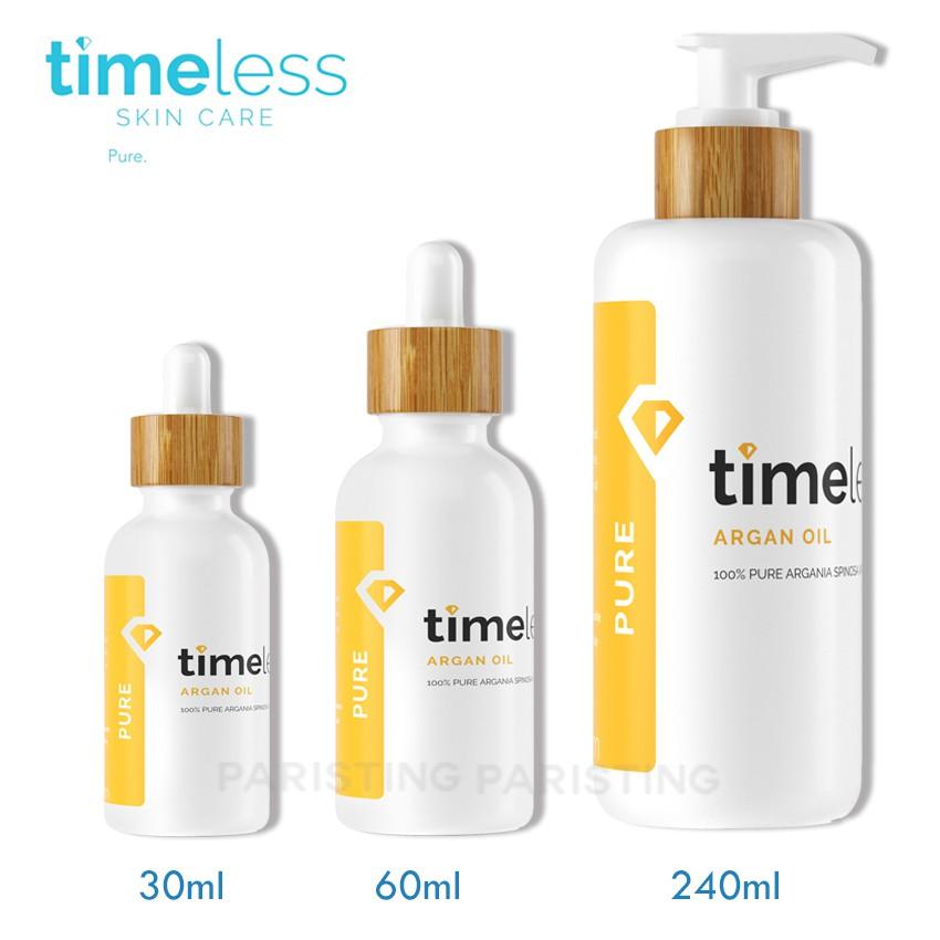 時光永恆 Timeless 摩洛哥堅果油 阿甘油 30ml / 60ml / 240ml 【巴黎丁】