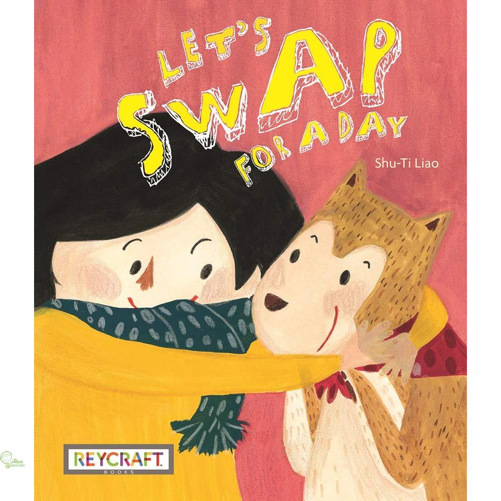 Let's Swap for a Day (平裝本)【禮筑外文書店】[73折]