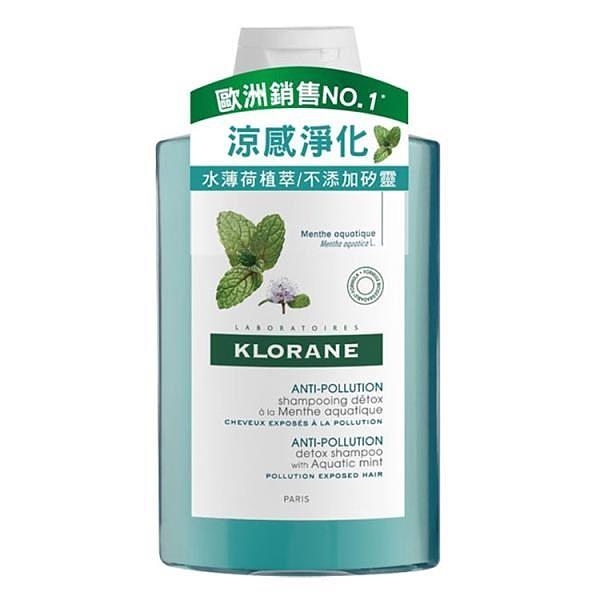 【南紡購物中心】Klorane蔻蘿蘭 涼感淨化洗髮精400ml