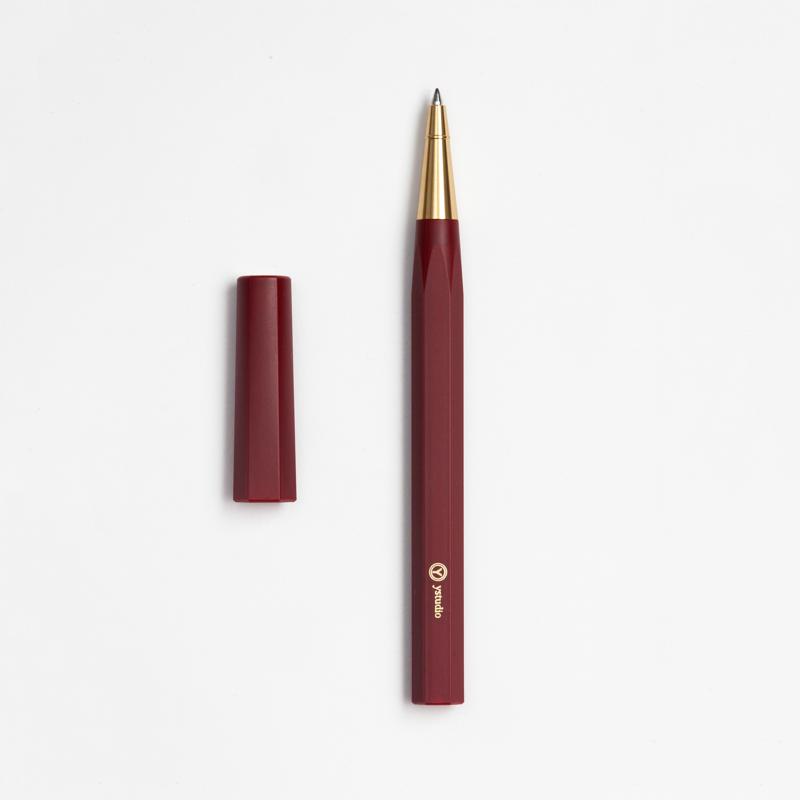 【物外設計 ystudio】平衡系列/鋼珠筆 (紅)