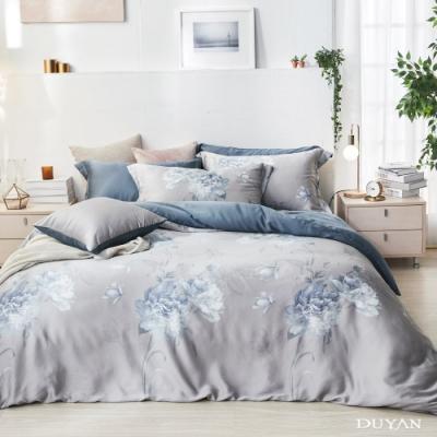 DUYAN竹漾-60支萊塞爾天絲-雙人加大床包三件組-夢迴牡丹 台灣製