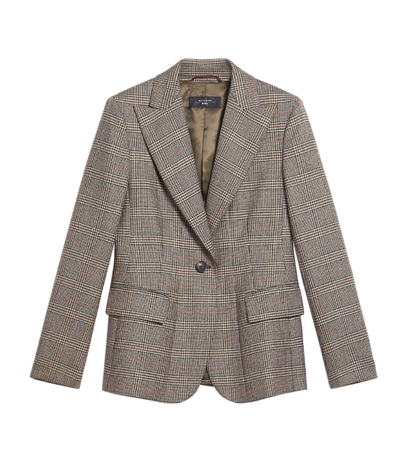 Weekend Max Mara Prince Of Wales Eolo Blazer