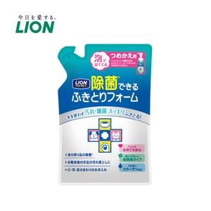 日本獅王 可除菌免洗泡泡慕斯 補充包x2入