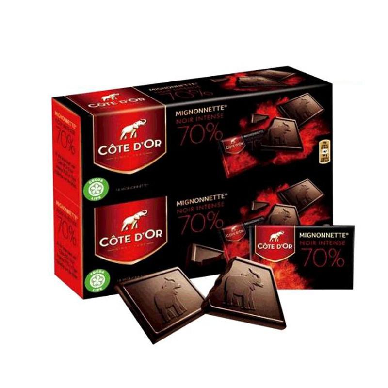 DOTE D OR 70% 可可黑巧克力 180公克X2盒 [COSCO代購] C124450
