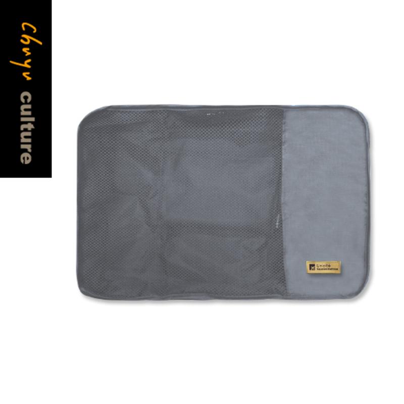 【珠友文化】旅行用衣物收納袋/分類收納袋(M)/G灰