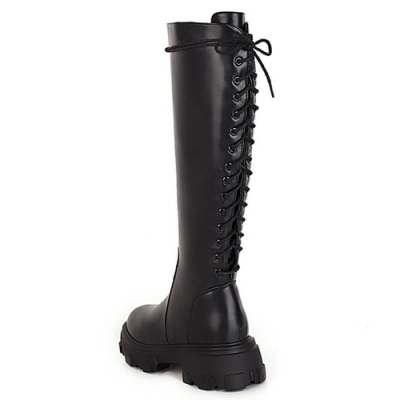 KEITH-WILL時尚鞋館 流行穿搭玩美潮流長筒靴