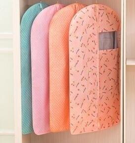 夢思納可水洗衣服防塵罩加厚西裝套大衣西服防塵套收納袋挂衣罩