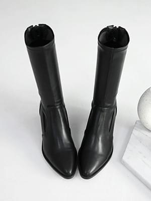 韓國空運 - Army Socks Middle Boots 6cm 靴子