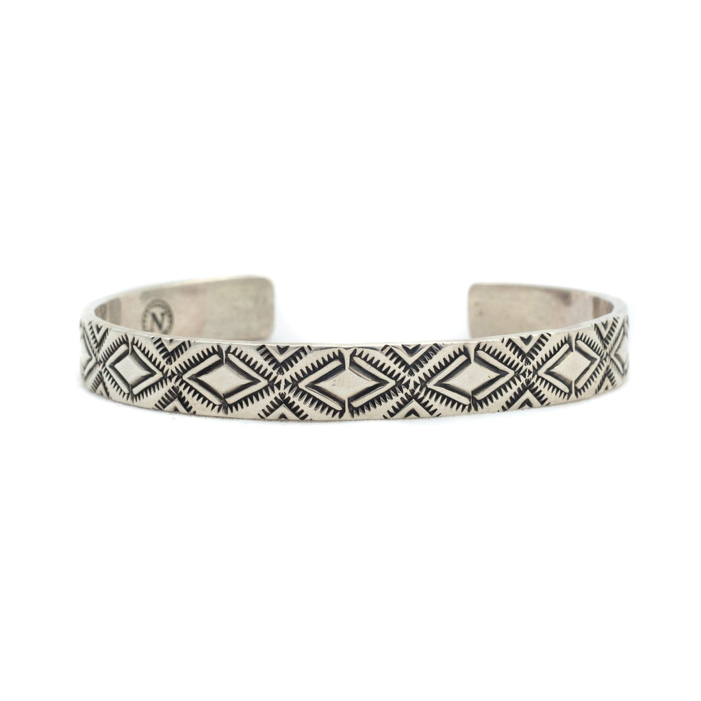 Barns Outfitters - BR-6965 North Works Silver Bangle