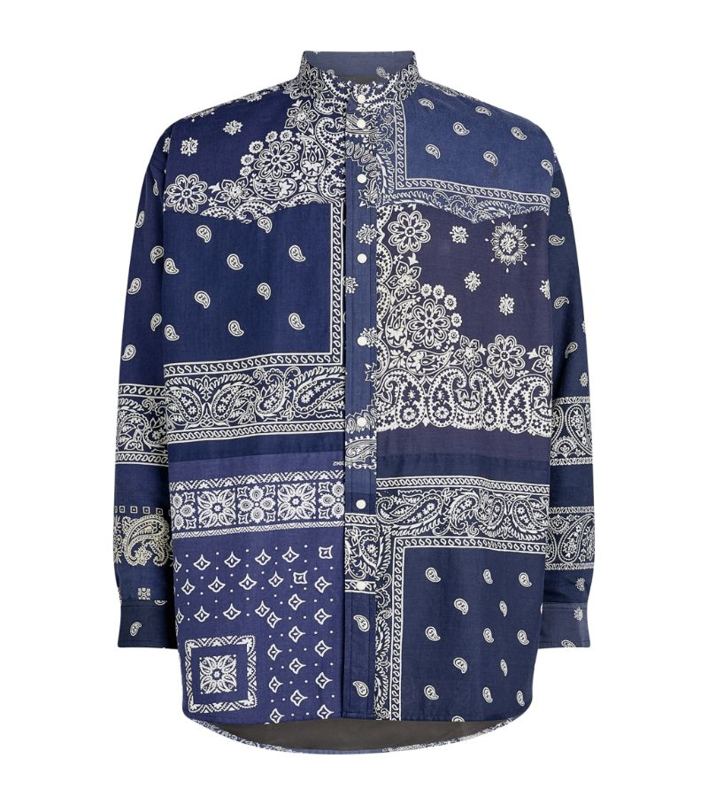 Children Of The Discordance Bandana Patchwork Shirt