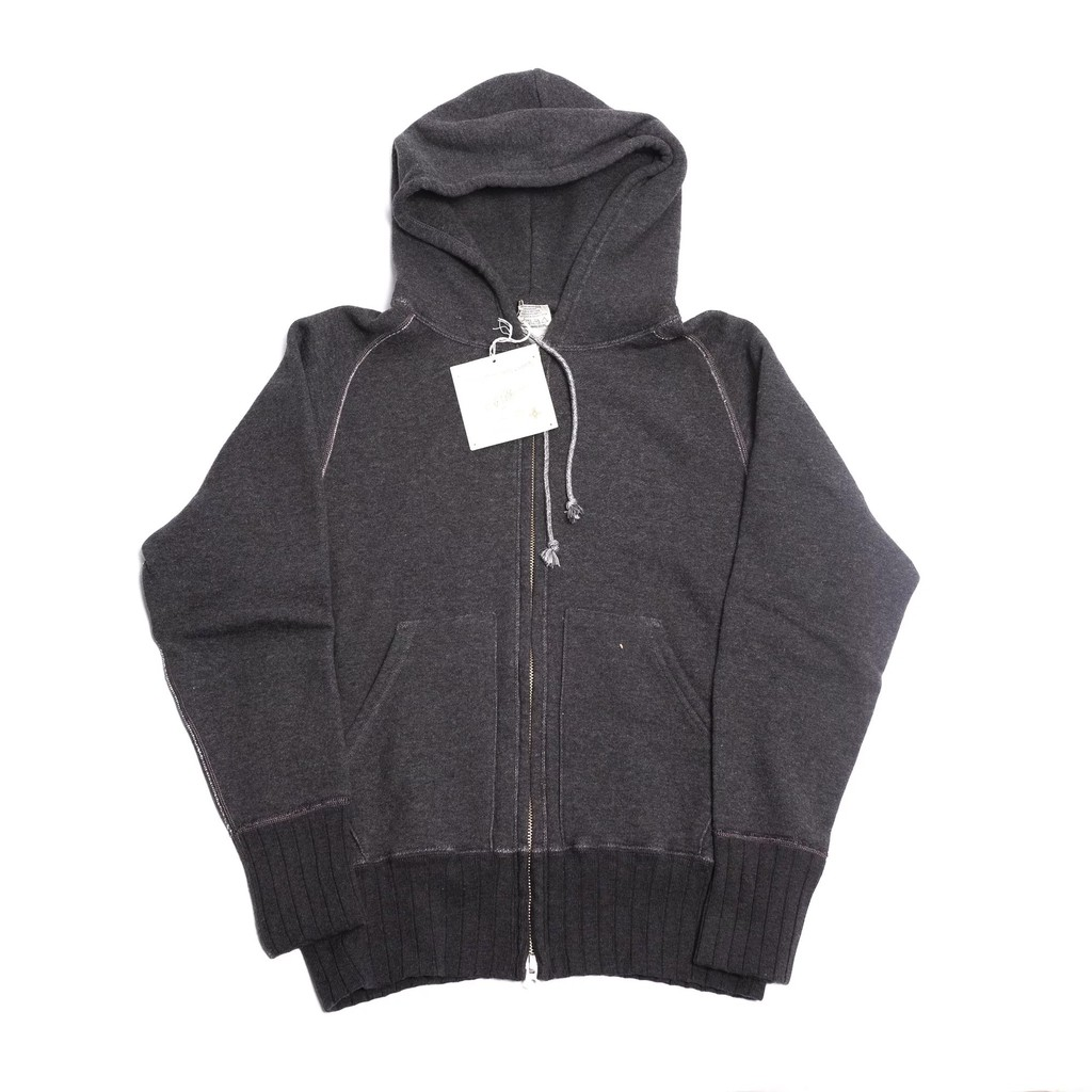 Two Moon - No.16504 Full Zip Parka (Charcoal)