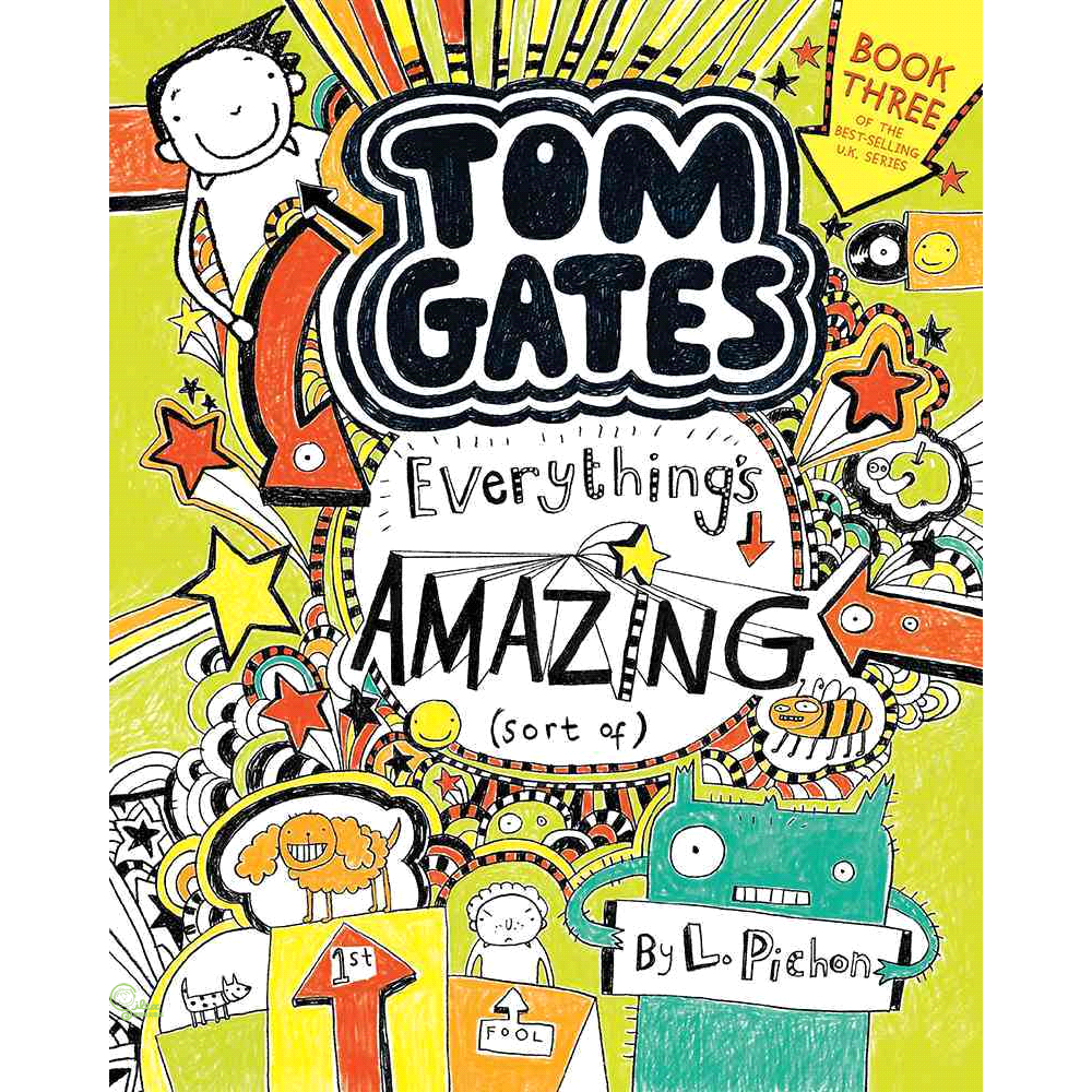 Tom Gates #3: Everything's Amazing (Sort of) (平裝本)【禮筑外文書店】