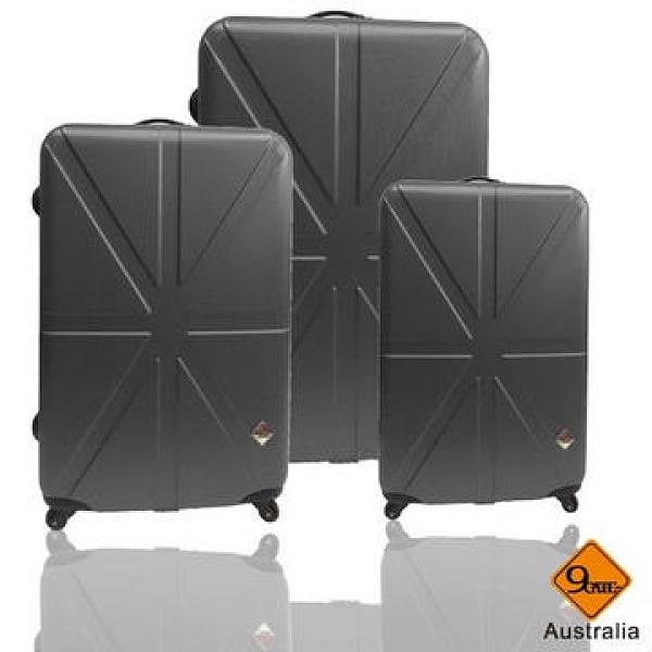 【南紡購物中心】Gate 9 英倫系列ABS輕硬殼行李箱28+24+20吋
