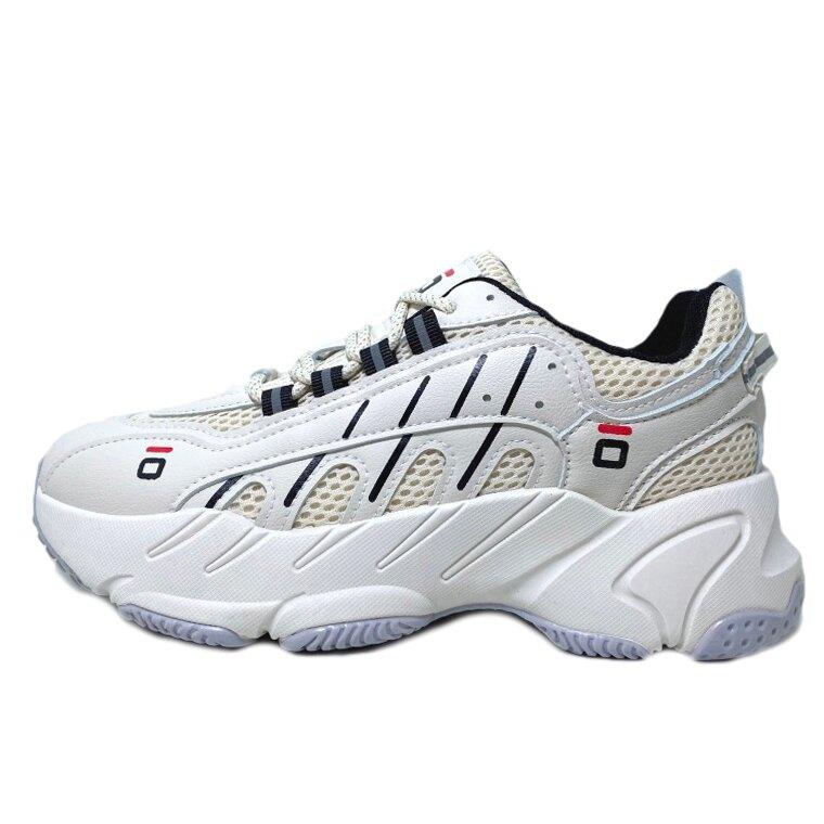【滿額領券折$150】女款奶茶色厚底老爹鞋 運動鞋 [FL008] 米【巷子屋】
