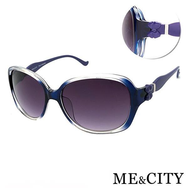 【南紡購物中心】【SUNS】ME&CITY 甜美蝴蝶結造型太陽眼鏡 時尚漸層系列 抗UV400 (ME 1225 F01)