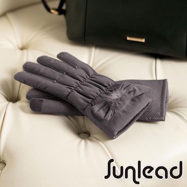 【南紡購物中心】Sunlead 防滑效果。保暖防風螢幕觸控輕量感刷毛手套