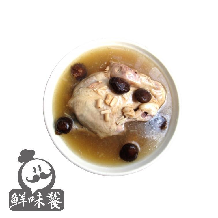 香菇燉雞湯 (冷凍熟食/湯品-一日大廚)