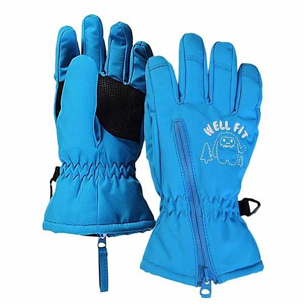 【南紡購物中心】【威飛客WELL FIT】兒童併指保暖手套 - 小雪怪