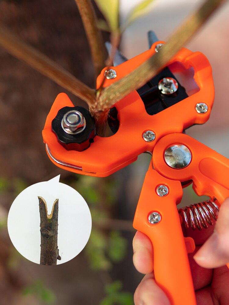 嫁接刀 多功能嫁接機剪刀粗枝樹木果樹嫁接神器升級嫁接工具嫁接刀芽接刀 OB9320